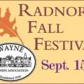 Radnor Fall Festival September 15, 2013