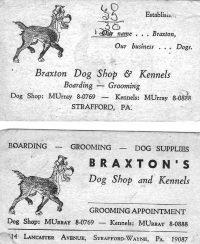TBT Vintage business cards