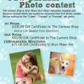 Paw-Parazzi Photo Contest