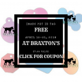 Free Pet ID at Braxton's