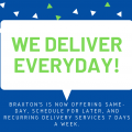 Braxton's Delivers